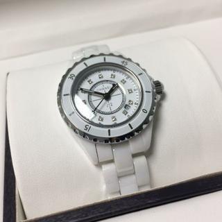 CHANEL - CHANELレディース メンズ 腕時計 ホワイト