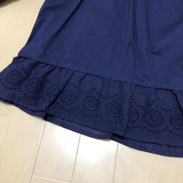 しまむら(シマムラ)のインド綿ブラウス / 150cm キッズ/ベビー/マタニティのキッズ服 女の子用(90cm~)(ブラウス)の商品写真