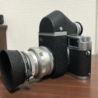 LEICA - ビンテージ  フィルム カメラ leica M1 ビゾフレックスレンズ付き