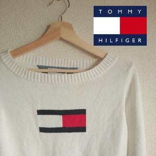 TOMMY HILFIGER - TOMMY HILFIGER ロゴニット