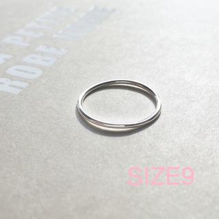 アメリヴィンテージ(Ameri VINTAGE)の再販【silver925】華奢なシンプルリング《9号》シルバー925(リング(指輪))