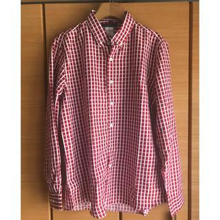 ジェイフェリー(J.FERRY)のJ.FERRY パターンボタンダウンシャツ レッド(シャツ)