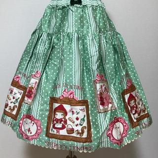 シャーリーテンプル(Shirley Temple)の新品シャーリーテンプル 赤ずきんちゃんスカート  (スカート)