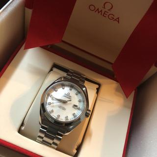 オメガ(OMEGA)のオメガ シーマスター アクアテラ 12Pダイヤ(腕時計)