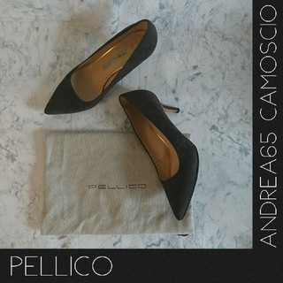 PELLICO - ☆極美品☆PELLICO【ペリーコ】ANDREA65/CAMOSCIO パンプス
