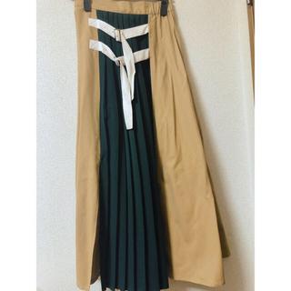 MURUA - サイドベルトフレアマキシスカート