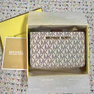 Michael Kors - ◆定番セール マイケルコース 上品✩二つ折り財布- MKロゴ