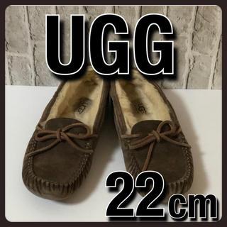UGG - UGG アグ モカシン フラット シューズ  ブラウン 22cm