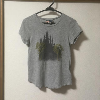 ギャップ(GAP)のGAP シンデレラ城プリントTシャツ disney(Tシャツ(半袖/袖なし))