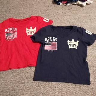 ロデオクラウンズワイドボウル(RODEO CROWNS WIDE BOWL)のRODEO CROWNS  WIDE BOWL 半袖Tシャツ2枚セット(Tシャツ/カットソー)