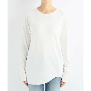 DEUXIEME CLASSE - 新品■Layering Tシャツ■ホワイト■ドゥーズィエムクラス
