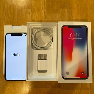 iPhone - 【明日発送可能】iPhone X 64GB simフリー