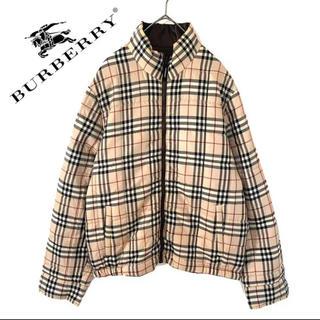 バーバリーブラックレーベル(BURBERRY BLACK LABEL)のburberry  バーバリー  チェック ブルゾン コート アウター メンズ(ブルゾン)