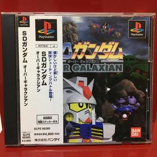 PlayStation - PS SDガンダム オーバーギャラクシアン 送料無料 シューティング