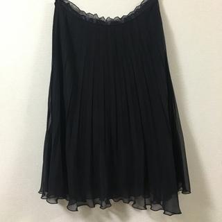 アイシービー(ICB)のicb シフォンスカート 【美品】(ひざ丈スカート)
