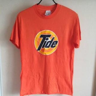 アンビル(Anvil)の洗剤Tide Tシャツ オレンジ(Tシャツ/カットソー(半袖/袖なし))