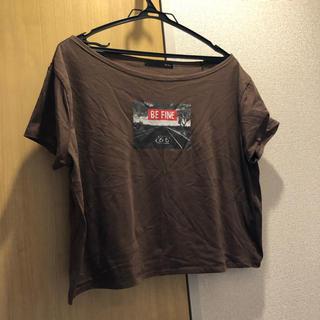 ヘザー(heather)のヘザー フォトワイドT(Tシャツ(半袖/袖なし))