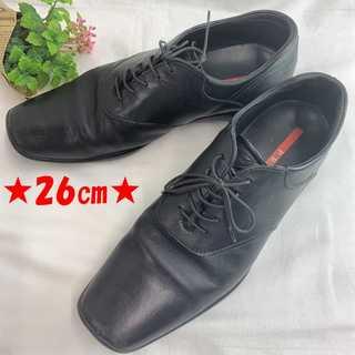 プラダ(PRADA)の❤セール❤ 【プラダ】 メンズ ブーツ ビジネスシューズ おしゃれ 革靴(ブーツ)