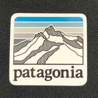 パタゴニア(patagonia)のパタゴニア LINE LOGO ステッカー(登山用品)