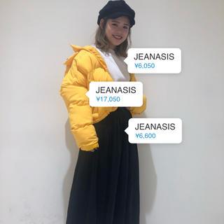 ジーナシス(JEANASIS)のカズノコ様専用 JEANASIS ジーナシス BIGフードイミテーション ダウン(ダウンジャケット)