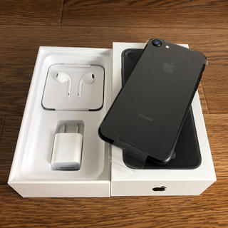 Apple - 新品!ネットワーク○!iPhone 7 Black SIMフリー docomo