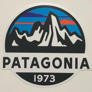 パタゴニア(patagonia)のパタゴニア  Fitz Roy Scope ステッカー(登山用品)