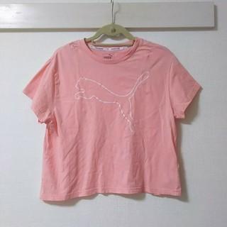 プーマ(PUMA)のPUMA*ビッグロゴウェア レディース(Tシャツ(半袖/袖なし))