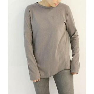 DEUXIEME CLASSE - 新品■Layering Tシャツ■ブラウン B■ドゥーズィエムクラス