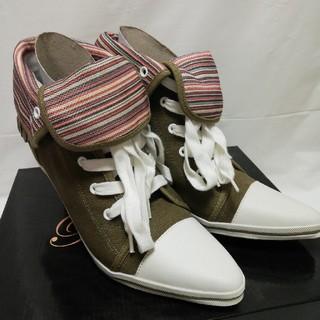 スニーカー ヒール靴(スニーカー)