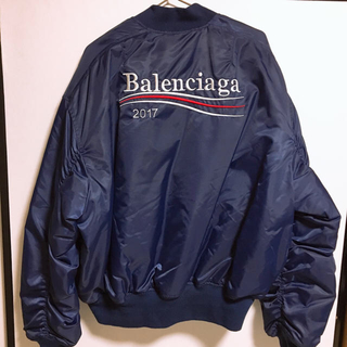 バレンシアガ(Balenciaga)のdude9 レプリカ ボンバージャケット MA-1 ブルゾン(ブルゾン)