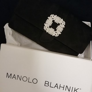 MANOLO BLAHNIK - マノロブラニク クラッチバッグ