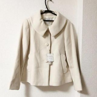 クチュールブローチ(Couture Brooch)のショートコート 新品未使用タグ付き(ピーコート)
