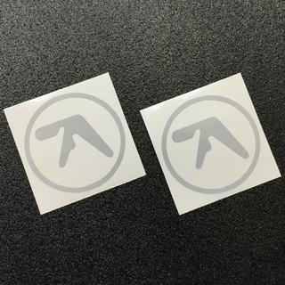 再帰反射素材 APHEX TWIN ロゴ カッティングステッカー 送料無料