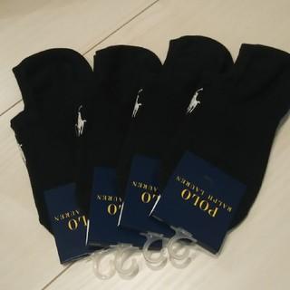 ポロラルフローレン(POLO RALPH LAUREN)の22  ラルフローレン  靴下/スニーカーソックス  濃紺  4足セット(ソックス)