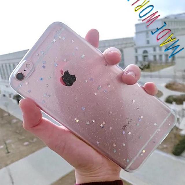 CHANEL様専用 iPhone7プラス クリア SNS ペアルック ガーリーの通販