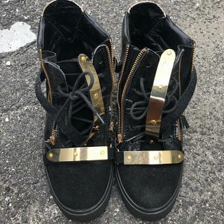 ジュゼッペザノッティ(GIUZEPPE ZANOTTI)のジュゼッペザノッティ 靴(スニーカー)