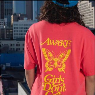 ジーディーシー(GDC)のgirls don't cry awake TEE Tシャツ ピンク XL(Tシャツ/カットソー(半袖/袖なし))