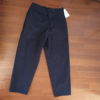 シップス(SHIPS)の新品 シップス パンツ  M 綿100% ネイビー ズボン SHIPS 紺(カジュアルパンツ)