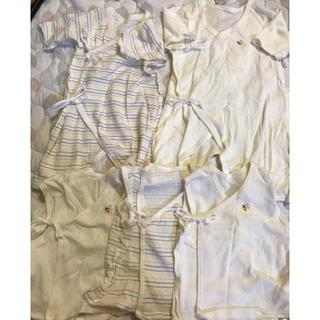 ニシマツヤ(西松屋)のオーガニックコットン♡新生児肌着5点セット(肌着/下着)