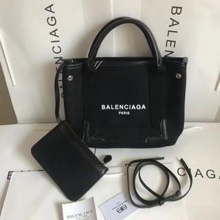 Balenciaga - Balenciaga トートバッグ ポーチ付き 可愛い 大容量 おしゃれ S