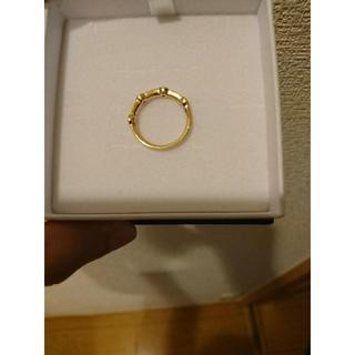 4℃ダイヤ&サファイヤエタニティリング(リング(指輪))