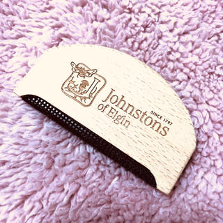 Johnstons - 【新品】ジョンストンズ  de-pilling comb