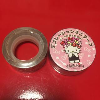 サンリオ(サンリオ)のデコレーションミニテープ 2種類‼︎(テープ/マスキングテープ)