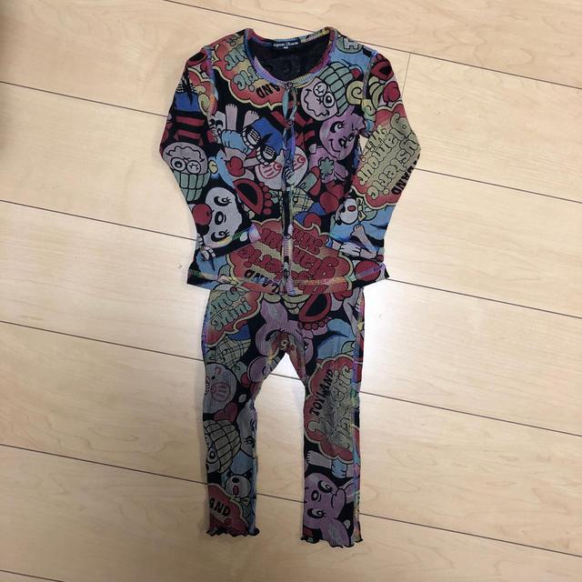 HYSTERIC MINI(ヒステリックミニ)の⑤ヒステリックミニ 上下セット キッズ/ベビー/マタニティのベビー服(~85cm)(シャツ/カットソー)の商品写真