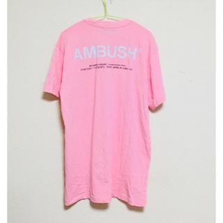 アンブッシュ(AMBUSH)のAMBUSH AW 18 T-SHIRT  カラーピンク(Tシャツ/カットソー(半袖/袖なし))