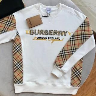 BURBERRY - BURBERRY  トレーナー   レディース秋物