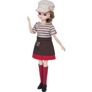 タカラトミー(Takara Tomy)のリカちゃん ミスド てんいんさんドレスセット(ぬいぐるみ/人形)