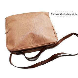 Maison Martin Margiela - メゾンマルタンマルジェラ 訳あり カーフレザー木目調2WAYショルダーバッグ