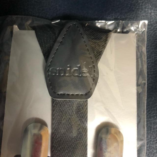 snidel(スナイデル)のsnidel  サスペンダー レディースのファッション小物(サスペンダー)の商品写真