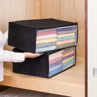 衣装ケース 2個組 不織布 活性炭消臭41